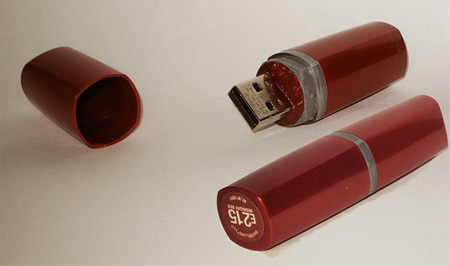 Lipstick USB Flash Drive