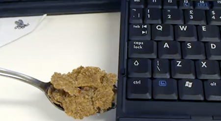 Cereal Spoon USB Flash Drive