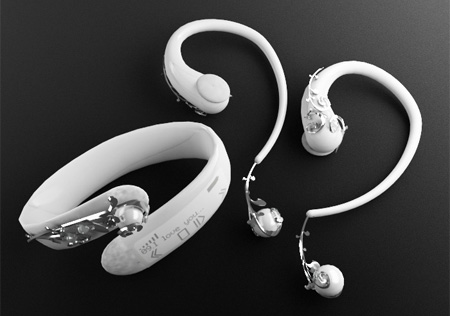 Pieces of Jewelry Headphones
