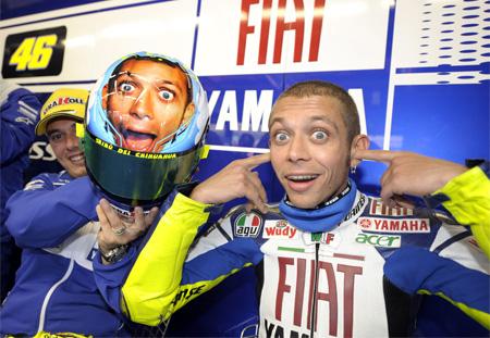 Valentino Rossi Face Helmet