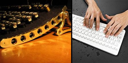 10 Unusual Computer Keyboards