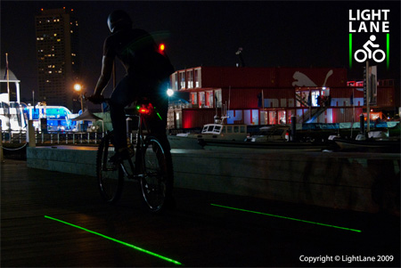 Innovative LightLane Bike Lane Concept 3