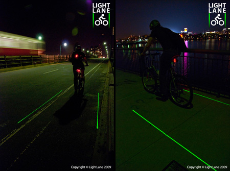 Innovative LightLane Bike Lane Concept 6