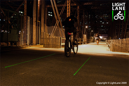 Innovative LightLane Bike Lane Concept 7