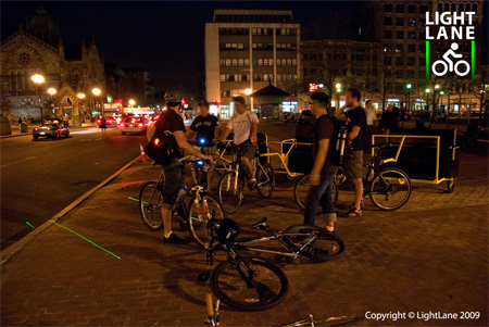 Innovative LightLane Bike Lane Concept 8