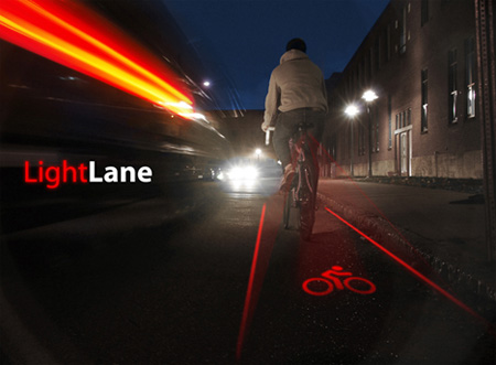 Innovative LightLane Bike Lane Concept 9