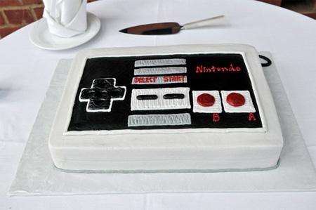 NES Controller Cake