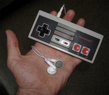NES Controller iPod Shuffle Mod