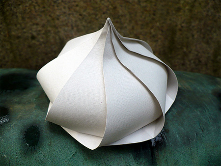 Beautiful origami created by