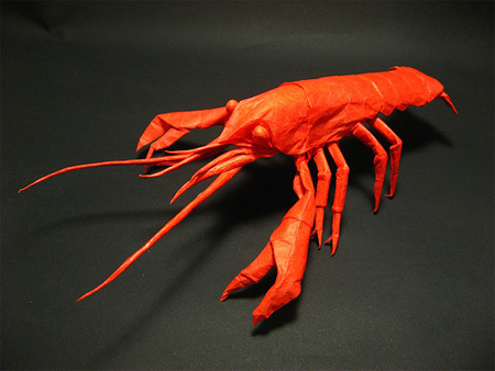 Crayfish Origami