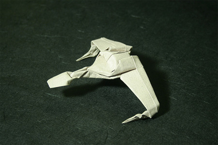 Klingon Bird of Prey Origami