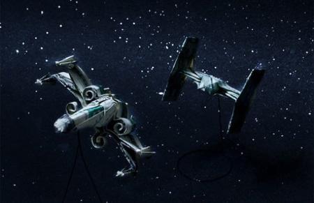 Spaceships Origami