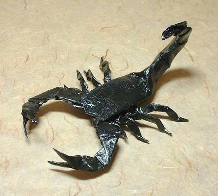 Scorpion Origami