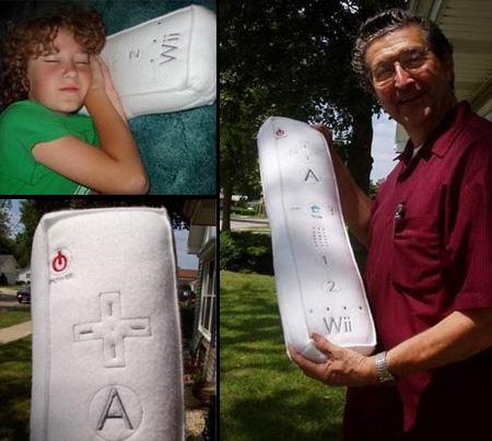 Nintendo Wii Controller Pillow