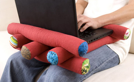 Log Laptop Pillow