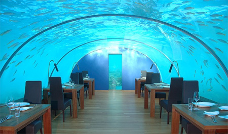 Ithaa Underwater Restaurant