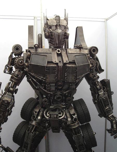 Optimus Prime Sculpture