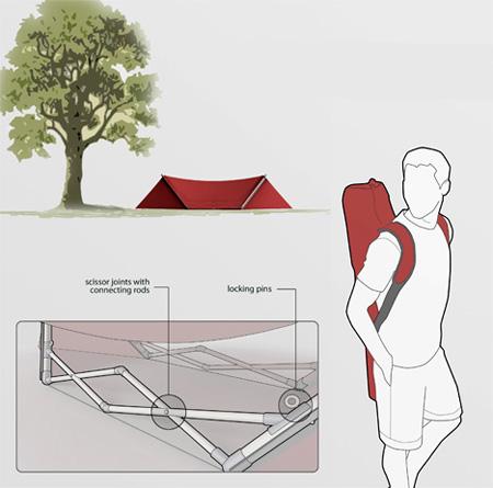 Respite Camping Tent