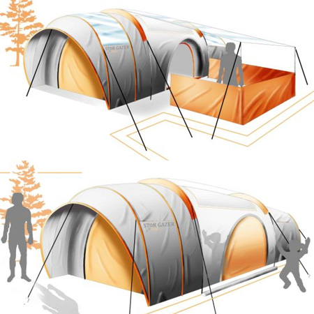 Star Gazer Tent  sc 1 st  Toxel.com & 10 Creative and Unusual Camping Tents