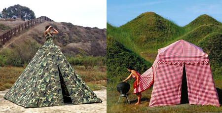 Dress Tents & 10 Creative and Unusual Camping Tents