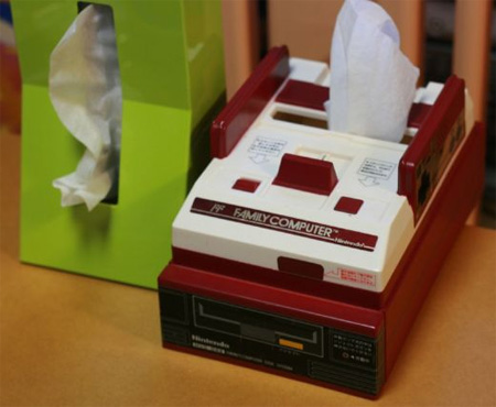 Nintendo Famicom Tissue Box Cover