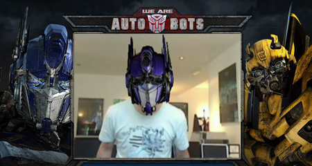 We are Autobots Transformers Augmented Reality