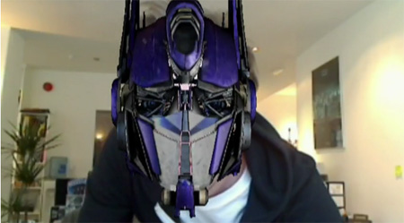 Transformers Augmented Reality