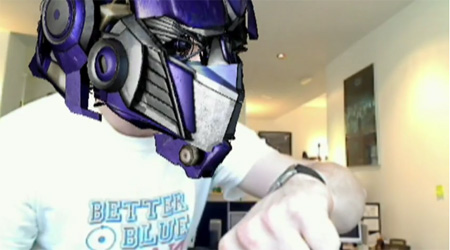 Transformers 2 Augmented Reality