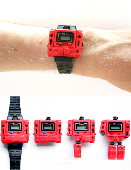 Transforming Watch