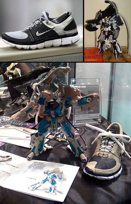 Transforming Nike Running Shoes
