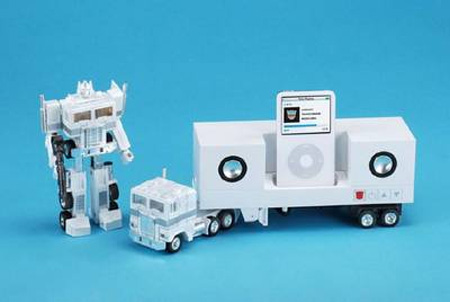 Optimus Prime iPod Dock