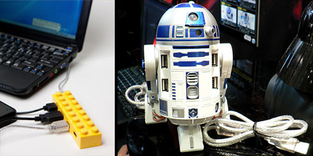10 Unusual and Creative USB Hubs