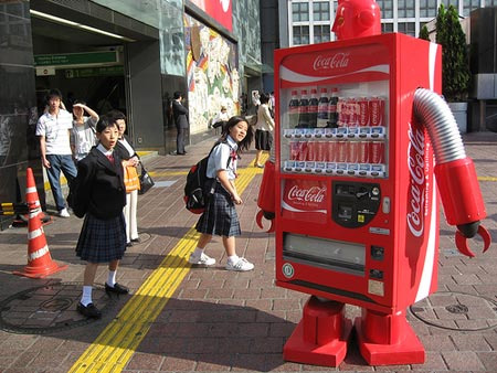 Coca-Cola Robot Vending Machine
