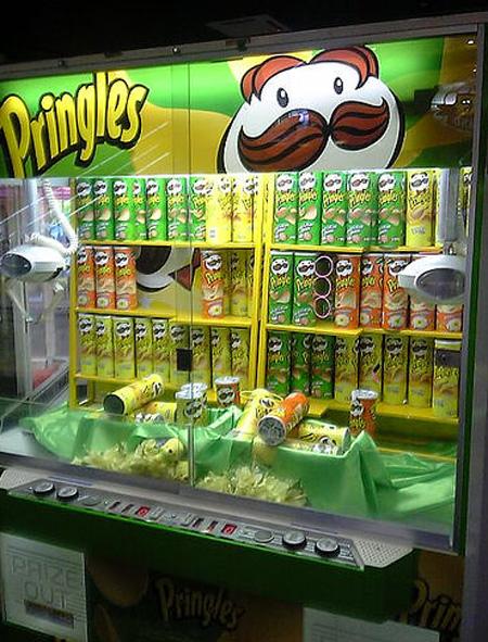 Pringles Vending Machine