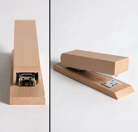 Solid Wood Stapler