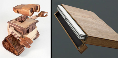 20 Wooden Gadgets and Designs