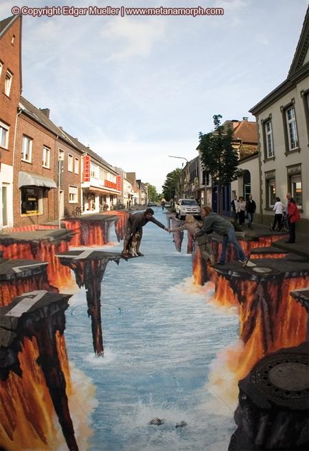 3D Lava Burst in Germany