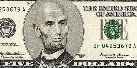 Bald Presidents on Dollar Bills