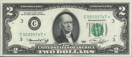 Bald Presidents on Dollar Bills 3