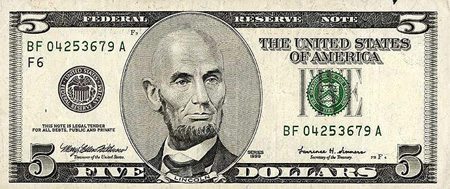 Bald Presidents on Dollar Bills 4