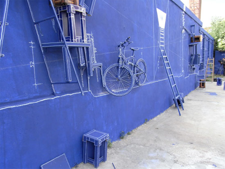 Creative Blueprint Art Installation 2