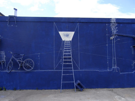 Creative Blueprint Art Installation 4