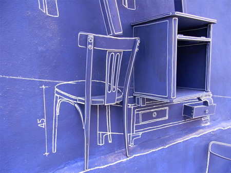 Creative Blueprint Art Installation 6
