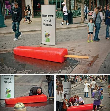 Bounty Ad Campaign in Los Angeles