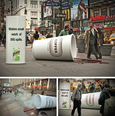 Bounty Ad Campaign in New York