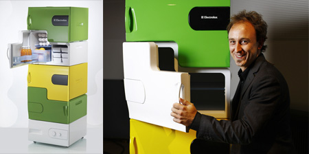 Cool Stackable Refrigerator Concept