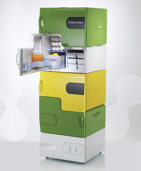 Flatshare Fridge by Stefan Buchberger