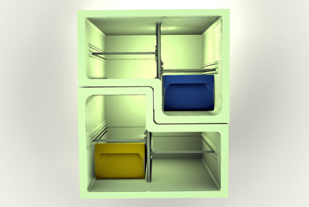 Stackable Fridge by Stefan Buchberger