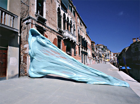Giant Chewing Gum in Venice