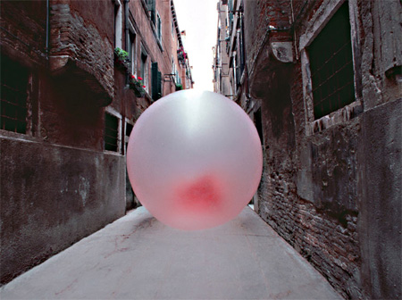 Giant Chewing Gum Sculptures